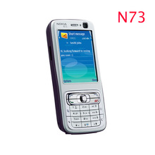 Refurbished Unlocked Nokia N73 Mobile Phone GSM 3G Bluetooth 3 15MP camera FM radio MP3 player