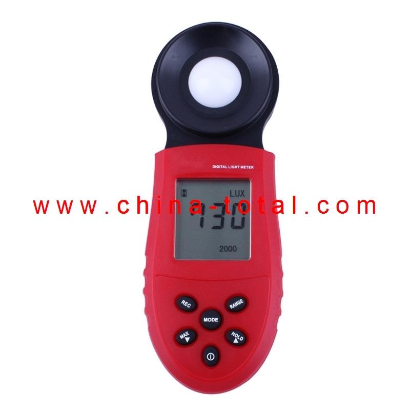 Mail Free Shipping!!! SR2730 Digital Light Meter Digital Lux Meter portable digital illuminometer Screen Brightness Meter(China (Mainland))
