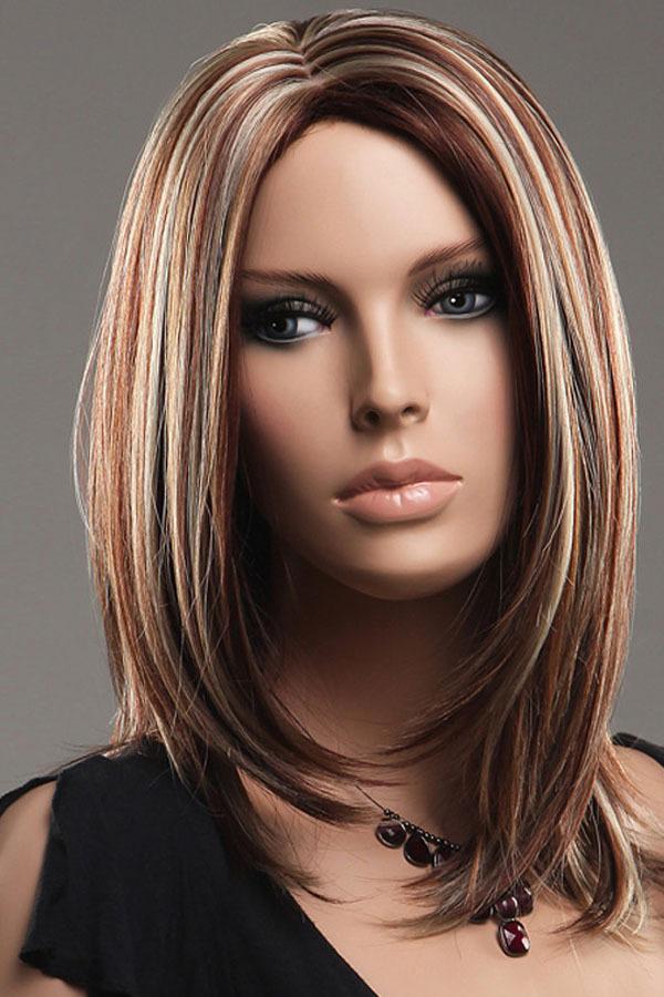 Fine New Hairstyle 2014 Medium Golden Brown Hair With Blonde Short Hairstyles For Black Women Fulllsitofus