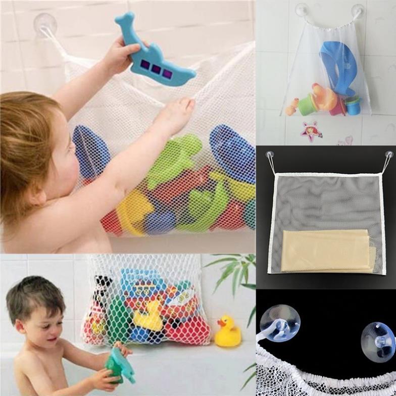 Organizador Juguetes Baño:Organizador plegable colgar malla mosquiteros! juguetes hora del baño