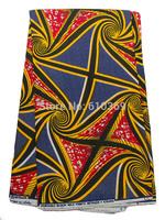 Wholesale African Fabric Textiles Real Wax Navy Blue Magic Carpet Design rw470406