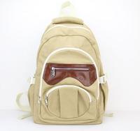 2015 New Designer Men Women Canvas Retro Backpack Schoolbag Rucksack free shipping H005 armygreen