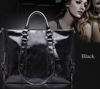 Hot Selling Women Leather Handbag Vintage Women Messemger Bags Shoulder Bag Hot Crossbody Bag Leather Tote Bolsas