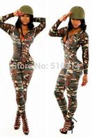 2015 summer women sexy jumpsuit animal printing bodycon club cloth set playsuit wholesale bodysuit 2 piece club bandage jumpsuit