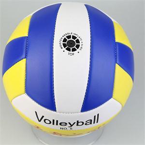 New Sports Thickened Pro Student Volleyball Brand PU Leather Match Training Ball Volleyball Size 5(China (Mainland))