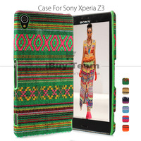 Fashion Bohemian Case for Sony Xperia Z3 D6603 D6643 Anti Slip Back Cover for Xperia Z3 Dual D6616 Durable Protective Shell