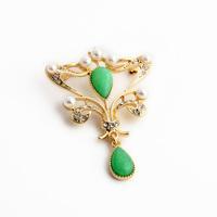 Fashion fashion accessories noble royal decorative pattern drop women's brooch
