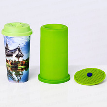 Free Shipping Silicone Rubber Cup Mug Fixture Clamp For Straight Mug by 3D Mini Sublimation Machine