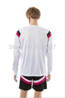 New Fashion Real CHICHARITO Bale James Kroos Ronaldo Soccer Jersey 2014-2015 White tracksuits Shirt Long Sleeve Uniforms Jerseys