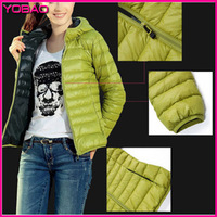 European and American New Fashion Women's Long-sleeved Thin Section Short Coat Cotton Padded Hooded Jacket  023az Plus Size S-XL