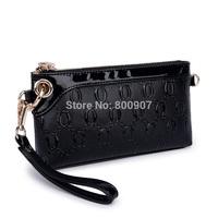 Women fashion handbag clutch shoulder bag messenger bag small bags Hand bag Crocodile pattern