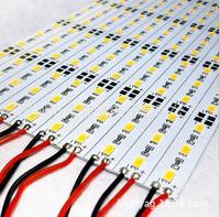 100pcs/lot 50CM DC12V 36leds SMD 5730 1800-1980LM 0.5W/Led LED Hard Rigid LED Strip Bar Light Free shipping