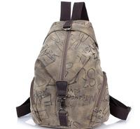British College student retro fashion shoulder backpacks