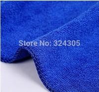 10 pcs Car wash cleaning Cloth 40cmx40cm blue Super Micro fiber glass towel high quality