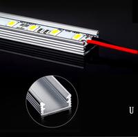 50cm 5730chip LED Bar 12V Hard Rigid Strip Bar Light 36leds+Aluminium Alloy Shell Housing Tiras Strip light For Cabinet