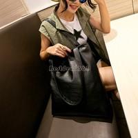 Discount Handbag women messenger bags Shoulder Leather Bag Casual Tote Elegent Free Shipping Big Size Fashion Korean Style B16