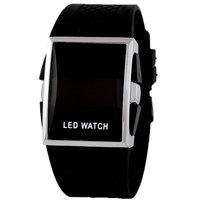 Stylish Casual Sports Watches Silicone Rectangle Shape Digital LED Watch Men relogio masculino esportivo