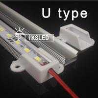 0.5m Dropship 5630 0.5m LED Bar 12V Hard Rigid Strip Bar Light 36leds + Aluminium Alloy Shell Housing CE RoHS free shipping