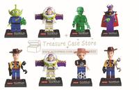 toy4 story Mr Potato Head Jessie Woody Buzz enlighten 8/pcs set minifigure  Building Block