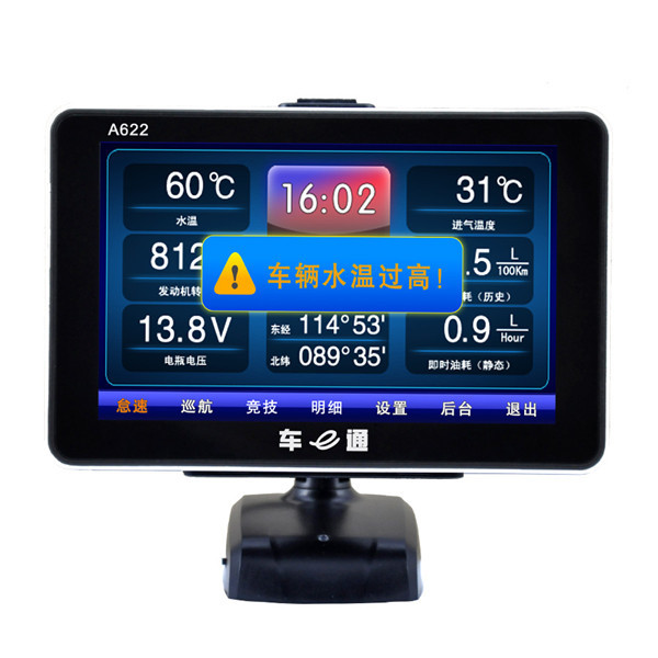 2015 New Generation V-checker A622 Trip Computer & GPS Navigator & TPMS & Oil Statistics Vchecker A622 Auto Diagnostic Tool(China (Mainland))