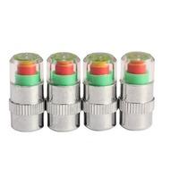 4Pcs/lot Hot Selling  Car Auto Tire Air Pressure Valve Stem Caps Sensor Indicator Alert