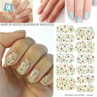 Kh023a воды передача фольги ногтей наклейки розовый пион цветочный дизайн наклейки ...