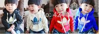 Boys and girl sweater coat, sport coat boys girls jacket hoodeies baby girl's sweater outerwear Children's clothing terry