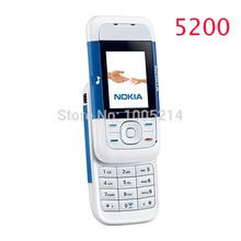 Refurbished Nokia 5200 Unlock Cell Phones 1 year warranty Free shipping