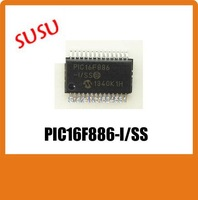 5PCS high quality PIC16F886-I/SS PIC16F886 16f886 SOP IN STOCK free shipping