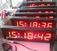 master slave clock led
