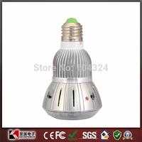 720P Night Vision Digital CCTV Security bulb camera with Remote Control
