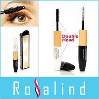 Rosalind Double Head Mascara Black Fiber and Special Plant Essence Waterproof Makeup Set