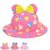 Super Lovely Kids Baby Cloth Hat Cartoon Sun Visor Hat Baby Infant Baby Beach Hats Children Floppy Hat Bucket Hats 1pc MZX-15005