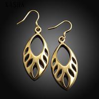 Free shopping 18K gold plating earrings Fashion High Quality zircon earrings KASHAE033