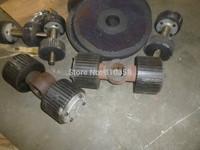 MKL295 flat die wood pellet machine wearing parts-------------roller shaft