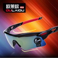 10pcs/lot Colorful sports outdoor riding Cycling sunglasses sports eyewear men's cool sunglasses anti-UV