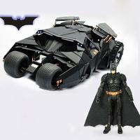 The BATMAN Dark Knight BATMOBILE Tumbler BLACK CAR Vehecle Toys With a Figure