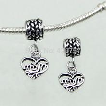 2015 Fashion charm European Beads 1 pcs Fit Pandora Bracelet necklace Jewelry Accessories
