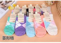 High Quality Business Women's Sock Fashion Brand Girls Socks Cotton Sock