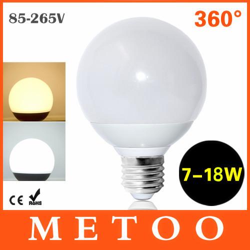 1pc High Power Led Ball Bulb 5730 SMD LED Lamp E27 220V 110V 85-265V 7W/9W/15W/18W Chandelier 360 Degree A60 A70 A80 A90(China (Mainland))