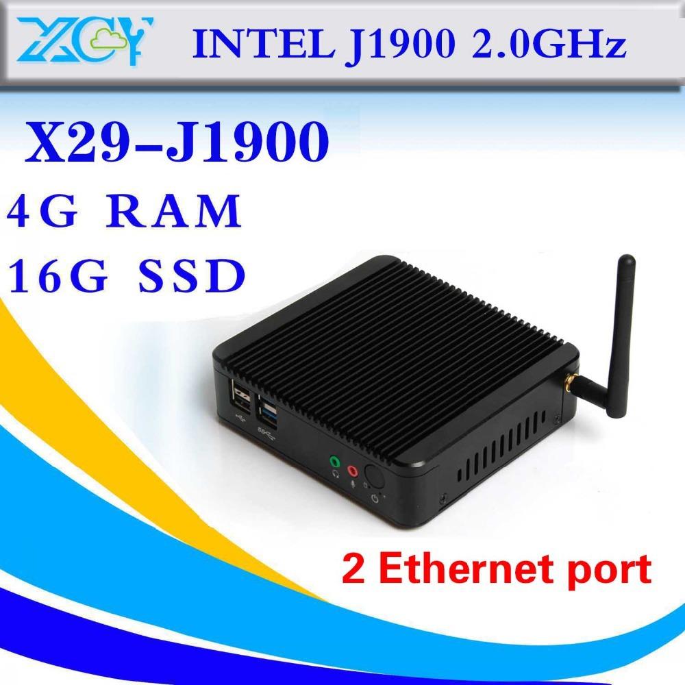 Low price and best quality Intel J1900 desktop computer newest mini pc latest mini computer Cheap mini desktop pc(China (Mainland))