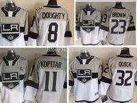 Man Jerseys Los Angeles Kings #8 Drew Doughty 11 Anze Kopitar 32 Jonathan Quick Men's Lce Hockey Jerseys Sale