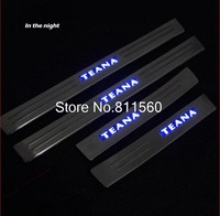 New Stainless LED Door Sill Scuff Plate fit for Nissan TEANA 2008-2011