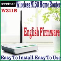 EnglishFirmware Tenda W311R Wireless-N 150M Wireless Router 150Mbps 802.11ngb WiFi 4 LAN Ports Broadband AP Router, NO COLOR BOX