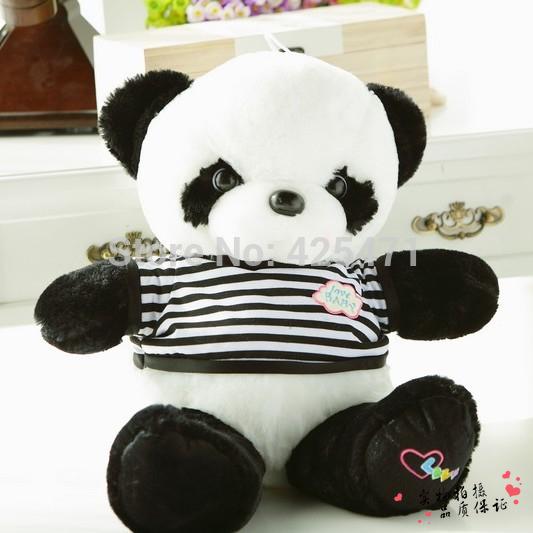 NEW GIANT CUTE STUFFED ANIMAL DOLL 55cm BIG PLUSH PANDA TEDDY BEAR SOFT TOY 100% COTTON CHRISTMAS GIFT FOR KIDS GIRLFRIEND(China (Mainland))