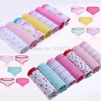 Wholesale 7pcs/lot 2014 Hot Sale High Quality Womens Underwear 100% cotton Briefs Panties For Ladies Sexy Women's Briefs