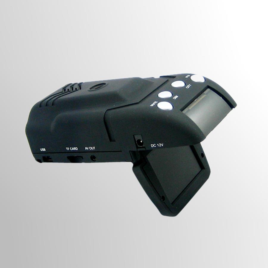 2015 New HD Car DVR H8+ Car Radar Detector Video Recorder Car With GPS Logger + 2.0 Inch TFT LCD + G-Sensor + 120 Degree Angle(China (Mainland))