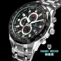 Watches men luxury brand Top Watch Multifunction Pagani Design 3303 quartz men sport wristwatch military watch relogio masculino