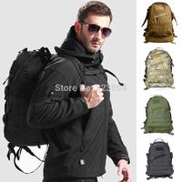 Outdoor backpack 3d assault backpack ride bag Camouflage bag double-shoulder 3d backpack travel bag 40l mountaineering bag