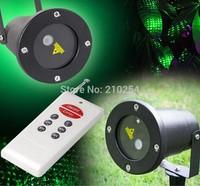 Remote Control+RG  Waterproof Latest Firefly Elf Laser Light Outdoor Christmas lights garden grass landscape decorative lights